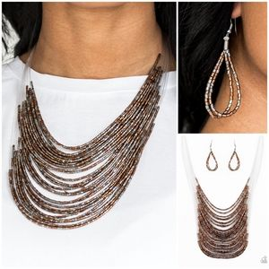 Paparazzi Catwalk Queen Multi Necklace Set